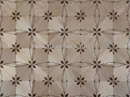 Flower Vinyl Floor Tiles Precious Pattern Art Parquet Wood Flooring Hardwood Wax