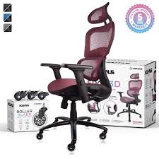 NOUHAUS Ergo3D Ergonomic Office Chair - Rolling Desk Chair With 4D  Adjustable Armrest, 3D Lumbar Support And Extra Blade Wheels, Mesh Computer  Chair, ... 5 Best Gaming Chairs For The Serious Gamer Desino Chair Racing Style Home Office Ergonomic Swivel Rolling Computer With Headrest And Adjustable Lumbar Support White Bestmassage Pc Desk Arms Modern For Back Pain 360 Degree Rotation Wheels Height Recliner Budget Rlgear Every Shop Here Details About Seat High Pu Leather Designs Protector Viscologic Liberty Eertainment Video Game Backrest Adjustment Pillows Ewin Flash Xl Size Series Secretlab Are Rolling Out Their 20 Gaming Chairs