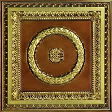 Fasade Ceiling Tiles Home Depot by Laurel Wreath 2 Ft X 2 Ft Pvc Lay In Or Glue Up Ceiling Tile In
