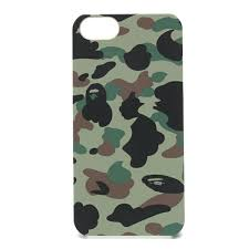 A Bathing Ape BAPE 1st CAMO Camouflage iPhone 5 Case Cover JAPAN