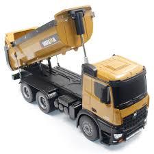 100 Rc Trucks Cheap HUINA TOYS 1573 114 10CH Alloy RC Dump Engineering