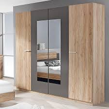 schlafzimmer 4 tlg borba rauch packs mit 180x200 bett alpinweiß grau