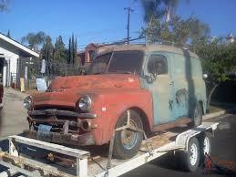 100 Old Panel Trucks For Sale 1951 DODGE B2V PILOTHOUSE B SERIES PANEL TRUCK