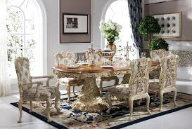 Baroque Antique Style Dining Table Solid Wood Inside Luxury Room Sets Remodel Italian Furniture Ebay Wooden