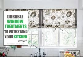 Kitchen Drapery Ideas Durability And Style With The Best Kitchen Sink Window