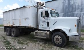 100 Schneider Truck For Sale 1986 Freightliner FLC Feed Truck Item DF4301 SOLD Septe