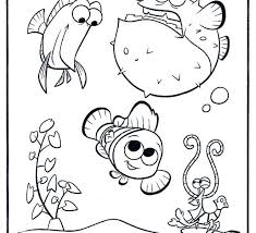 Fish Tank Coloring Page Free Download