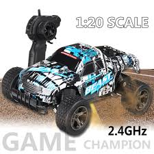100 Monster Truck Remote Control Car High Speed RC Electric OffRoad Vehicle_RC