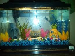 Spongebob Fish Tank Accessories by 38 Best Fish Tank Ornaments Images On Pinterest Fish Tanks