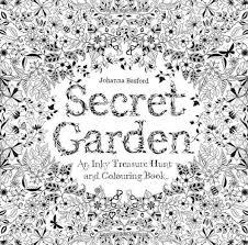 Secret Garden An Inky Treasure Hunt And Coloring Book Mini