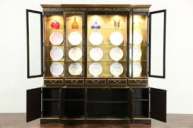 Ebay Vintage China Cabinet by Sold Drexel Heritage Vintage Breakfront China Cabinet Chinese