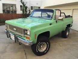 100 Blazer Truck 1973 Chevrolet K5 4x4 Convertible SUV NO RESERVE