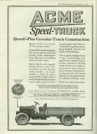 Speed! Plus Genuine Truck Construction Acme Speed-Truck Ad 1921 ... Superior Trucking Equipment Mike Vail Ltd Acme Ice Cream Truck Our Stories Innisfil Cleaning Ny Hitch Tommy Gate Inlad Van Company The Worlds Best Photos Of Acme And Truck Flickr Hive Mind Lines Von Ormy Tx Line Application Box Specialt Signs Old Parked Cars 1960 Ford F350 Glass Saves Local Engines With Nonethanol Fuel Thurstontalk Cash Stores Cuyahoga Falls Historical Society Home Auto Facebook