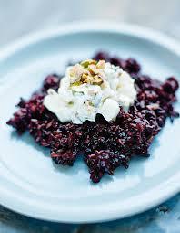 cuisine du riz riz noir aux navets et aux pistaches pour 4 personnes recettes