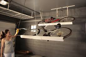 Ceiling Bike Rack Flat by 40 Storage Ideas That Will Organize Your Entire House Bicycle