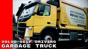 100 Garbage Truck Youtube Volvo Autonomous Self Driving YouTube