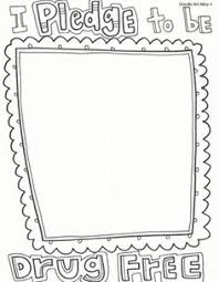 Coloring Pages For Red Ribbon Week
