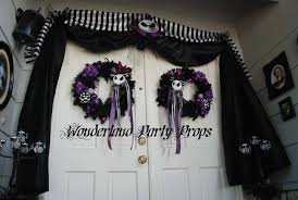 nightmare before christmas halloween party ideas photo 2 of 6