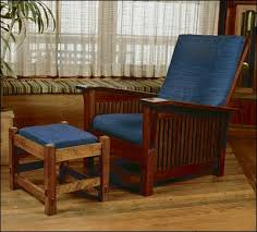 morris chair project plan by fine woodworking woodworking