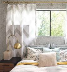 Yellow And Gray Window Curtains by Bedroom Stylish Curtains Yellow And Grey Bedsiana For Gray