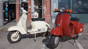 Vintage Scooter Test Vespa Vs Lambretta Photos