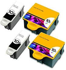 HouseOfToners Compatible Ink Cartridge Replacements For Kodak 10XL Black 10 Color 2