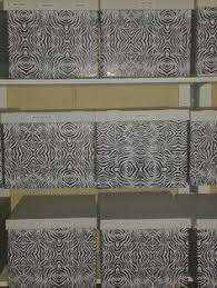 Decorative Bankers Box Canada by Fabric Covered Bankers Boxes In An Ikea Shelf Unit Ideas For The