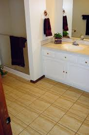 Preparing Concrete Subfloor For Tile by How To Lay A Floating Porcelain Or Ceramic Tile Floor Over A