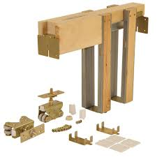 Furniture: Pocket Door Hardware Kit | Sliding Door Hinges | Barn ... 42 X 84 Barn Doors Interior Closet The Home Depot Easy Operation With Pocket Lowes For Your Inspiration Sliding Glass Wood More Rustica Hdware Looking An Idea How To Build A Door Frame Click Here Cream Painted Wall Galley Kitchen Design Using Dark 1500hd Series Frames Johnsonhdwarecom Best 25 Doors For Sale Ideas On Pinterest Bedroom Closet Bypass Barn Door Hdware Timber Building Handles Rw Kits Images Ideas