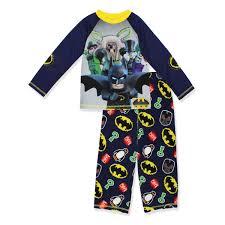 100 Monster Truck Pajamas Lego Batman Boys Poly Top With Fleece Pants Pajama