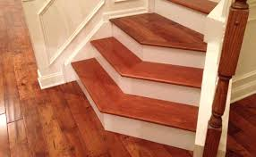 Installing Stair Treads Image Of Maple Over Carpet
