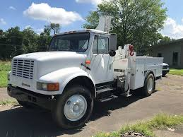 2002 International 4900 Knuckle Boom Truck 2 Door Diesel Manual ...