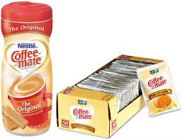 Coffee Mate Non Dairy Powdered Creamers Homemade Vanilla