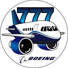 Boeing 777 Sticker