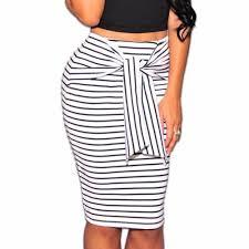 popular stripe pencil skirt buy cheap stripe pencil skirt lots