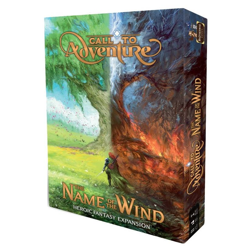 Call to Adventure: Name of the Wind Expansion Board Game