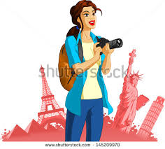 Girl photography clipart