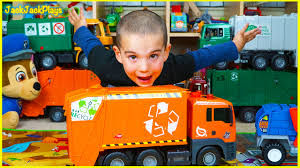 Dickie Toys Recycling Truck Toy Unboxing - Jack Jack Playing With ...