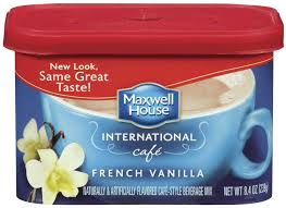 Maxwell House Coffee Flavors French Vanilla International Ground Iced