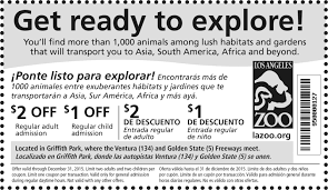 Los Angeles Zoo Deals Coupons