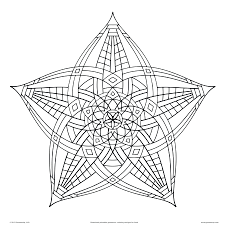 Geometric Design Colouring Sheets Islamic Coloring Pages Animals Adults Printable Full Size