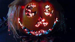 Fiber Optic Halloween Decorations by Kids Of America Halloween Jack O U0027 Lantern Fiber Optic Pumpkin