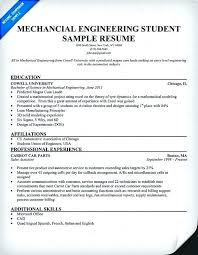 Mechanical Engineer Resume Skills Examples Sample For Freshers