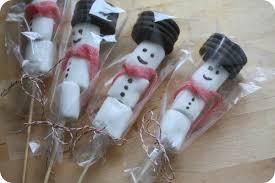requia cuisine cadeau gourmand le bonhomme de neige marshmallow chez requia