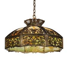 stained glass kitchen pendant light antique neoclassical early
