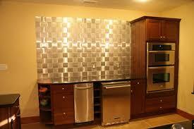 Metal Adhesive Backsplash Tiles by Interior Self Adhesive Wall Tiles Brick Effect Kitchen Wall