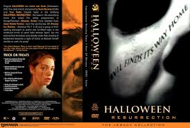 Halloween Jamie Lee Curtis Remake by The Horrors Of Halloween Halloween Resurrection 2002 Vhs Dvd