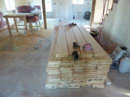 Low Bud DIY Plywood Plank Floors
