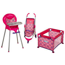 Graco Room Full Of Fun Baby Doll Playset - Tolly Tots - Toys