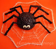 Rice Krispie Halloween Treats Spiders by Giant Cake Ball Spider Hungry Happenings Halloween